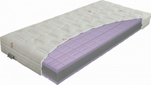Materac piankowy Swiss Lavender